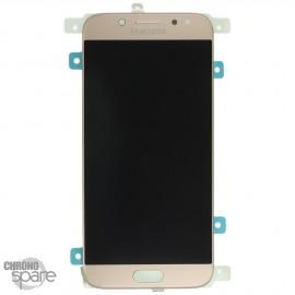 Ecran LCD + Vitre Tactile Or Samsung Galaxy J5 2017 J530F (officiel) GH97-20738C