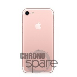 Chassis arrière iPhone 7 Or Rose - sans nappes