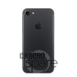 Chassis arrière iPhone 7 Noir - sans nappes