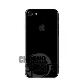 Chassis arrière iPhone 7 Noir de Jais - sans nappes