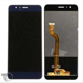 Ecran LCD & Vitre tactile Bleu Premium Honor 8