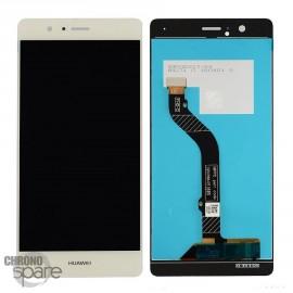 Ecran LCD et Vitre Tactile or Huawei P9 Lite
