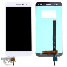 Ecran LCD + Vitre tactile blanche Asus Zenfone 3 (ZE520KL)