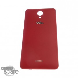 Cache batterie Wiko Freddy 4G Rouge