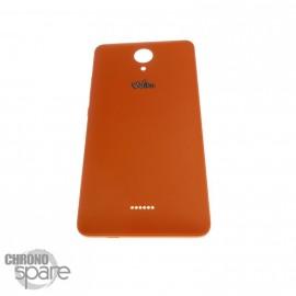 Cache batterie Wiko Freddy 4G Orange
