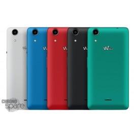 Cache batterie Wiko Rainbow Lite 4G bleu