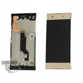 Ecran LCD & Vitre tactile Or Sony Xperia XA1 (Officiel)