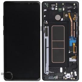 Vitre tactile et écran LCD Samsung Galaxy Note 8 SM-N950F (officiel) Noir
