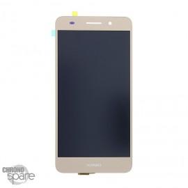 Ecran LCD + Vitre Tactile Or Huawei Y6 II