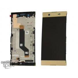 Ecran LCD & Vitre tactile Or Sony Xperia XA1 Ultra (Officiel) (G3221, G3212, G3226)