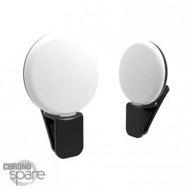 Lampe pour selfie - Noir