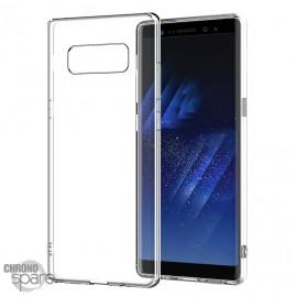 Coque silicone transparente Samsung Galaxy Note 8