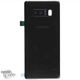 Vitre arrière Samsung Galaxy Note 8 SM-N950F (officiel) Noir