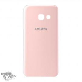 Vitre arrière rose Samsung Galaxy A3 2017 (A320F)