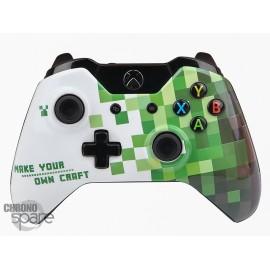 Coque avant manette Xbox One - Craft