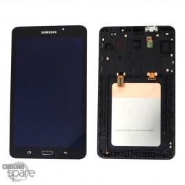 """Ecran LCD et Vitre Tactile noire Samsung Galaxy Tab A 2016 7"""" T285 (officiel)"""
