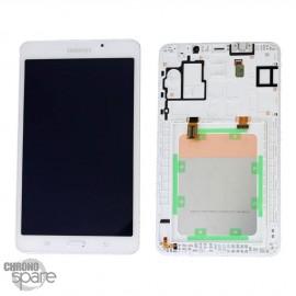 "Ecran LCD et Vitre Tactile blanche Samsung Galaxy Tab A 2016 7"" T285 (officiel)"