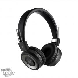 Casque Audio Bluetooth / Radio FM - Noir 210B
