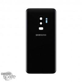 Vitre arrière+vitre caméra noir (officiel) Samsung Galaxy S9 PLUS G965F