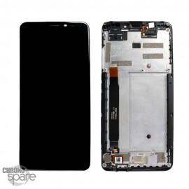 Ecran LCD et Vitre Tactile noire Wiko View