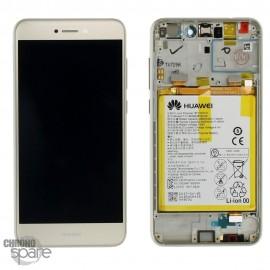 Bloc écran LCD + vitre tactile + batterie Huawei P8 Lite 2017 Or (officiel)