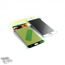 Ecran LCD + Vitre tactile blanche (officiel) Samsung A7 2016 SM-A710F