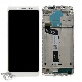 Ecran LCD + Vitre Tactile blanche Xiaomi Redmi Note 5 Pro