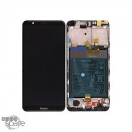 Ecran LCD + Vitre Tactile Honor 7X - Noir (officiel)