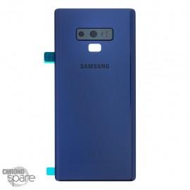 Vitre arrière Samsung Galaxy Note 9 SM-N960F (officiel) - Bleu cobalt