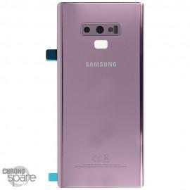 Vitre arrière Samsung Galaxy Note 9 SM-N960 (officiel) - Mauve orchidée