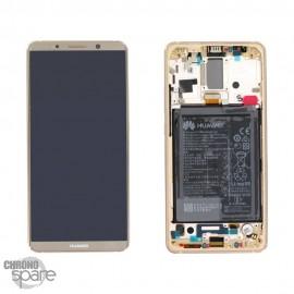 Ecran LCD + Vitre Tactile Huawei Ascend Mate 10 Pro Or (officiel)