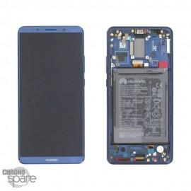Ecran LCD + Vitre Tactile Huawei Ascend Mate 10 Pro Bleu/Noir (officiel)