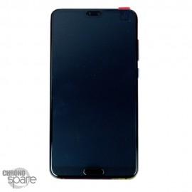 Bloc écran LCD + vitre tactile + batterie Huawei P20 Pro Twilight (officiel)