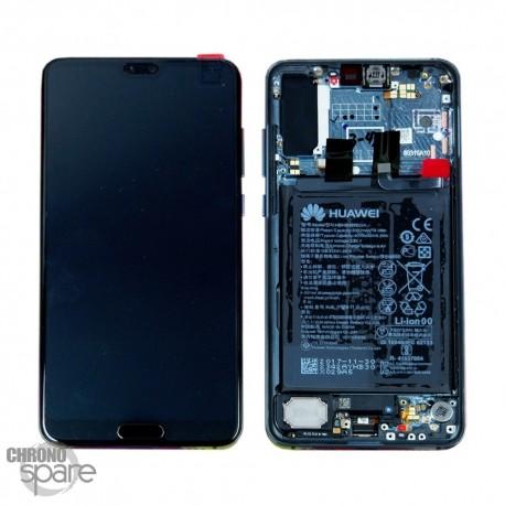Ecran LCD + Vitre Tactile Huawei Ascend Mate 20 Pro Noir (officiel)