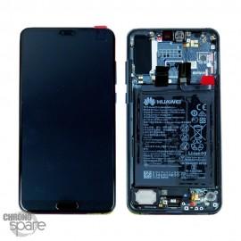 Ecran LCD + Vitre Tactile Huawei Ascend Mate 20 Pro Bleu nuit (officiel)