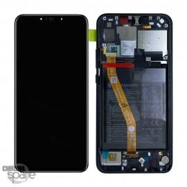Bloc écran LCD + vitre tactile + batterie Huawei P Smart Noir Plus (officiel)