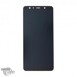 Vitre tactile et ecran LCD Samsung Galaxy A7 2018 A750 (Officiel) Noir